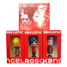 Red Alert! Vinyl Figure Triple Pack & Red CD!